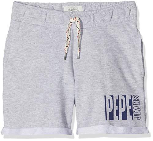 Pepe Jeans Otto Pantaloncini da Bagno, Grigio (Light Grey Marl 913), 8 Anni (Taglia Produttore: 8) Bambino