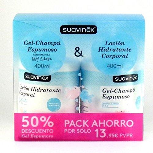 Suavinex Gel-Campú Espumoso 400ml + Loción Hidratante Corporal 400ml