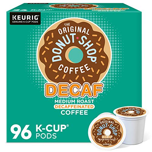 The Original Donut Shop Decaf Keurig Single-Serve K-Cup Pods, Medium Roast Coffee, 96 Count