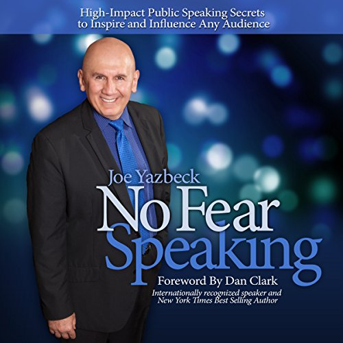 No Fear Speaking audiobook cover art