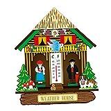 H HILABEE Termómetro Interior Higrómetro Temperatura Humedad Monitor Temperatura del Indicador