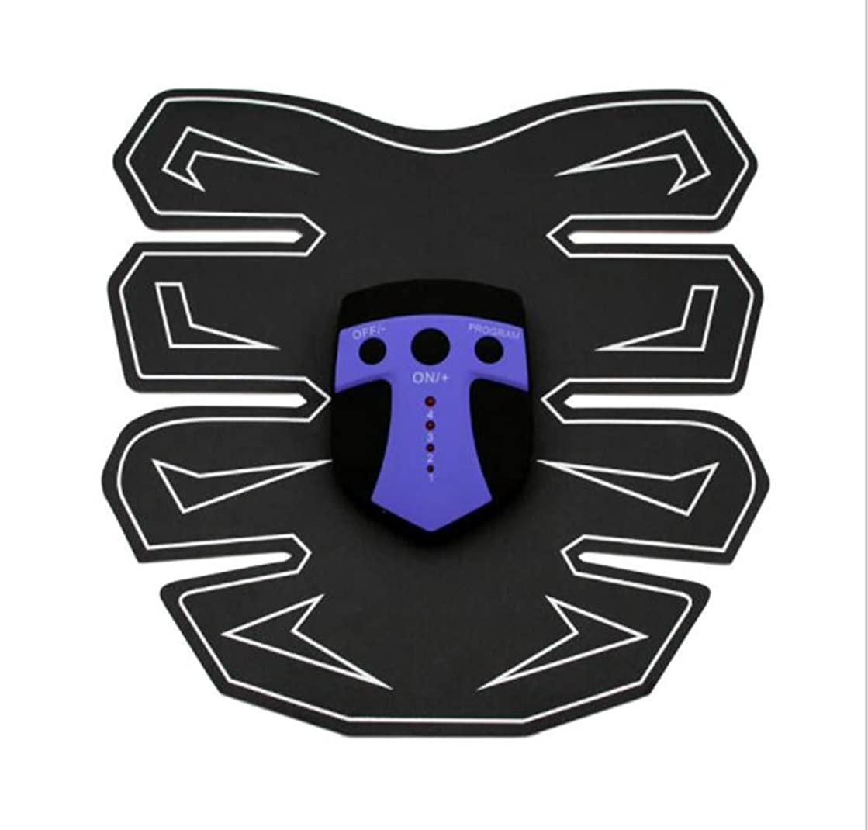 黒人メモ容器GWM EMS筋肉刺激装置、腹部マッサージベルト、腹部トレーナー、体操訓練、ホームフィットネス機器