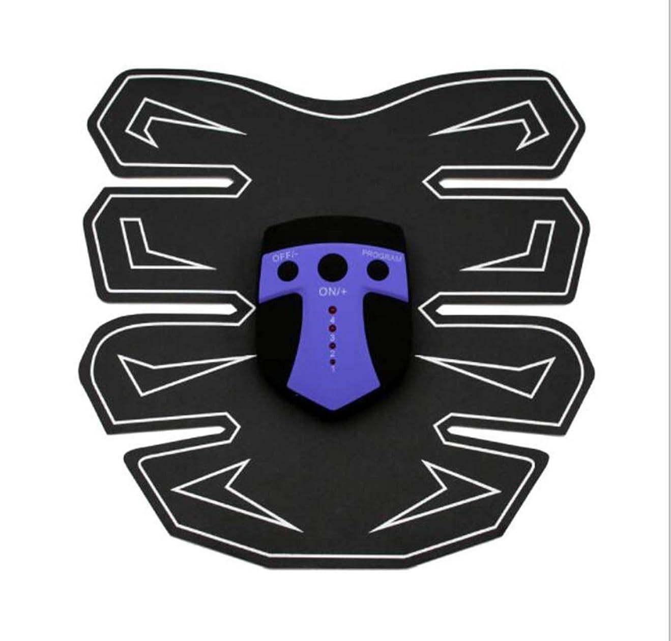 ヒューマニスティック冷ややかなのみGWM EMS筋肉刺激装置、腹部マッサージベルト、腹部トレーナー、体操訓練、ホームフィットネス機器