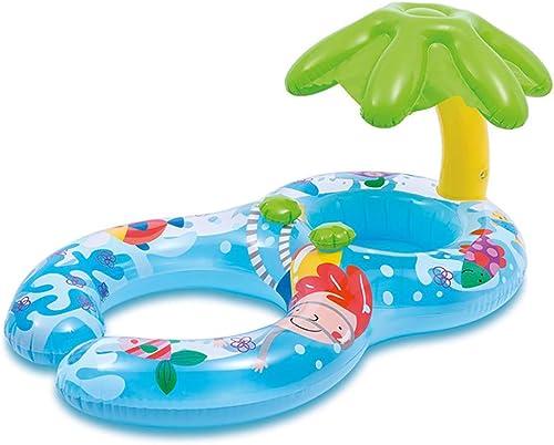 Baby und Mama Pool Stiefel, Eltern-Kind-Pool Float Safe Seat aufblasbar, Mutter Kind Schwimmring Sommer Spaß Schwimmen Training,3