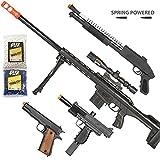 BBTac Airsoft Gun Package - Long Range Sniper -...