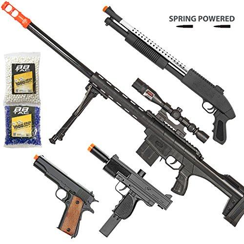 BBTac Airsoft Gun Package - Long Range Sniper - Collection...