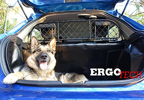 Ergotech Dog Guard, Pet Barrier for Subaru Crosstrek (Produced Since 2017-), RDA65-XS16, for Luggage and Pets