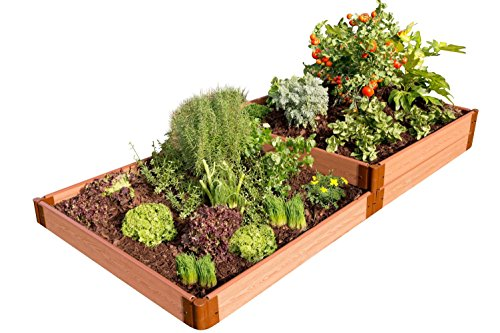 Frame It All 300001405 Raised Garden Bed, 4' x 8' x 11'