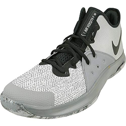 Nike Men's Air Versitile Iii Basketball Shoe, Atmosphere Grey/Black-gunsmoke, 11