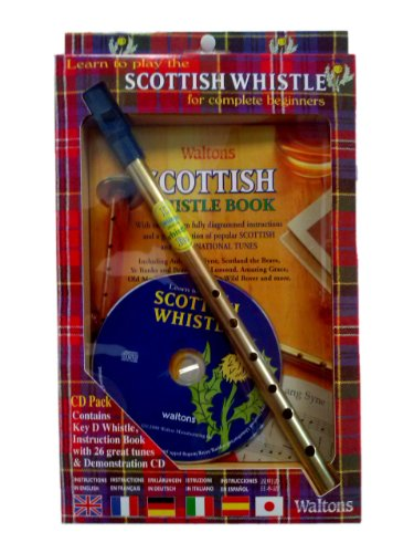 Scottish Tin Whistle Pack + CD