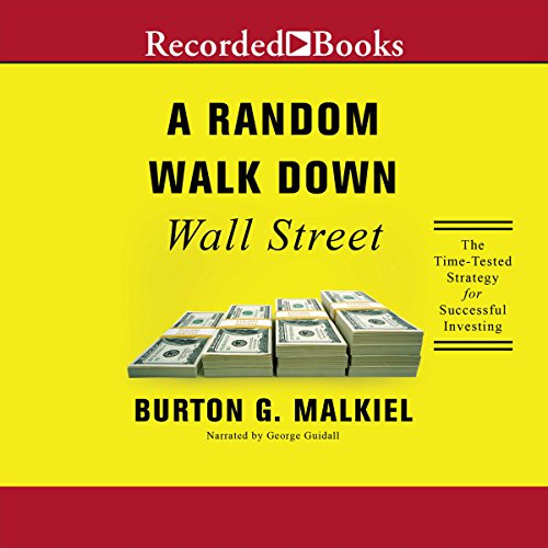 A Random Walk Down Wall Street audiobook cover art
