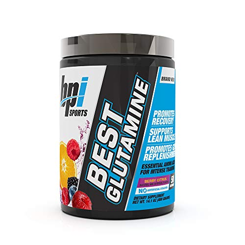 Bpi Sports Best Glutamine Supplement, Berry Citrus, 14.1 Ounce