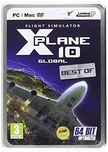 X-Plane 10 Global 64 Bit Enhanced Best of: Latest Edition (PC DVD) [Edizione: Regno Unito]