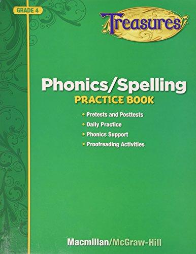 Phonics / Spelling Practice Book Grade 4 (Treasures)