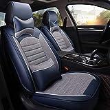 Housse de siège en cuir en lin pour Volkswagen Tous les modèles VW Polo Passat B6...