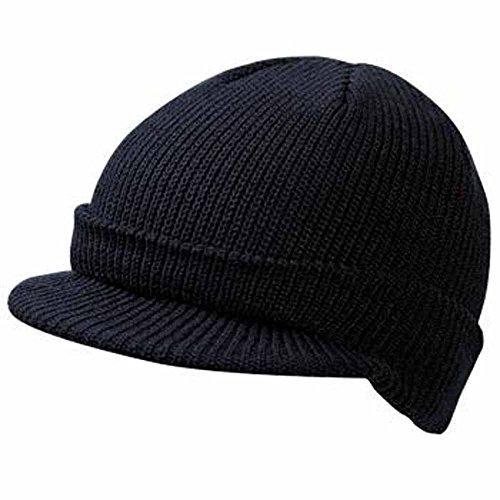 Myrtle beach - Bonnet casquette visière MB7530 - mixte adulte - coloris noir