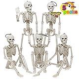 Posable Halloween Skeletons, Full Body Posable Joints...