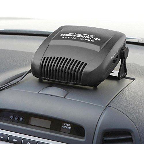 Chauffage et Ventilateur céramique - 12v - 150w - Voiture Auto Caravane