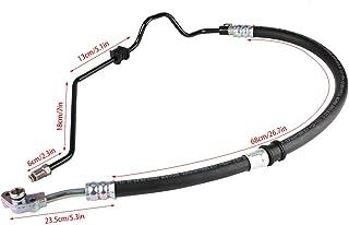 Qiilu Power Steering Pressure Line Hose Assembly Fit for Honda Odyssey V6 3.5L 05-07 53713SHJA01 55172