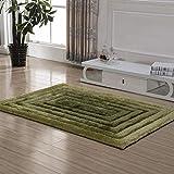 carpet Waschbar Vakuum Durable Teppich Chiffon Heel Stretch-Muster Seidenteppich Wohnzimmer Schlafzimmer Couchtisch Bett Teppich Invisible Edge Rechteck Home Daily Mat,120 X 170 cm,# 4