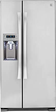 Kenmore Elite 51823 21.9 cu. ft. Side-by-Side Refrigerator in Stainless