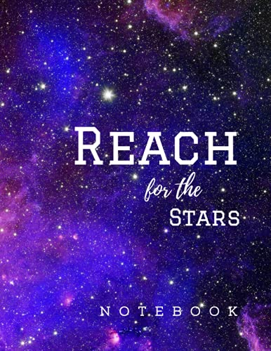 NOTEBOOK: Reach for the stars S5, Galaxy Composition Notebook, Galaxy Journal, Astronomical...