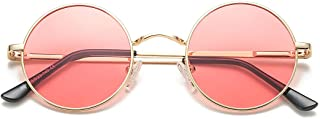 Retro Small Round Polarized Sunglasses John Lennon Style Circle UV400 Sun Glasses