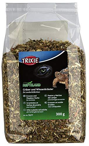 Trixie 76277 Gräser und Wiesenkräuter für Landschildkröten, 300 g