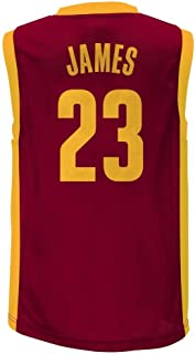 Lebron James Cleveland Cavaliers #23 Red Youth Home Player Jersey