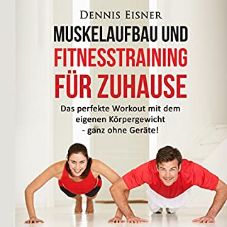 Muskelaufbau und Fitnesstraining für Zuhause Titelbild