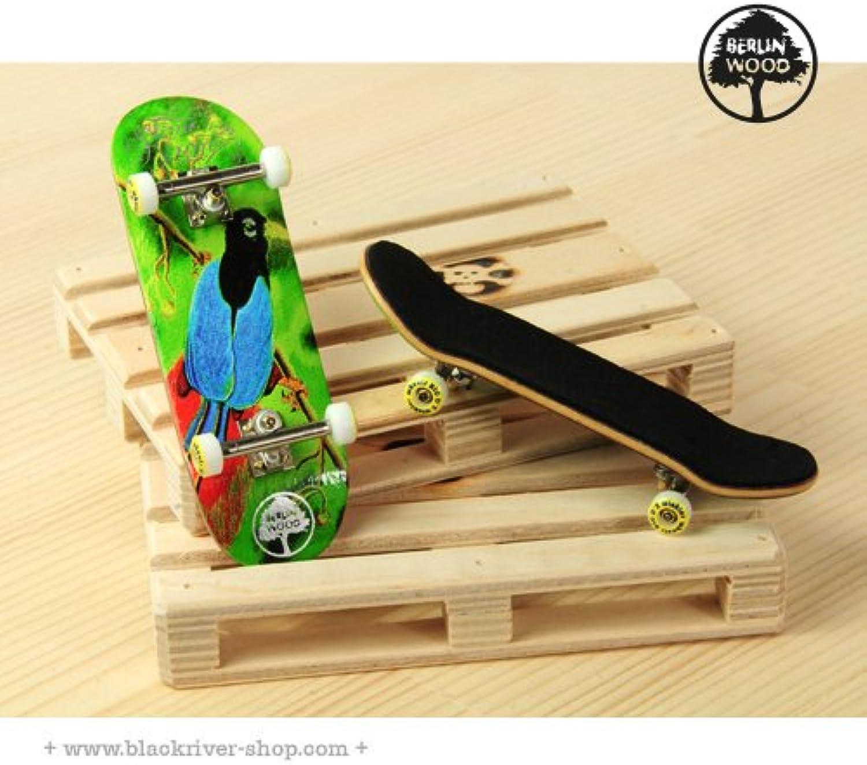 Professionelles Fingerboard Komplett Set Berlinwood  TKY Bird of Paradise