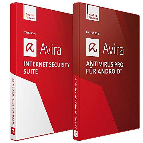 Avira Internet Security Suite 2018 für PC und Antivirus Pro 2018 für Android