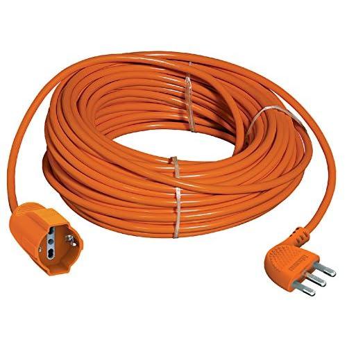 BTicino S2533/40 Prolunga Garden ad Alta Flessibilità con Presa Pluristandard, 3500 W, 250 V, Arancione