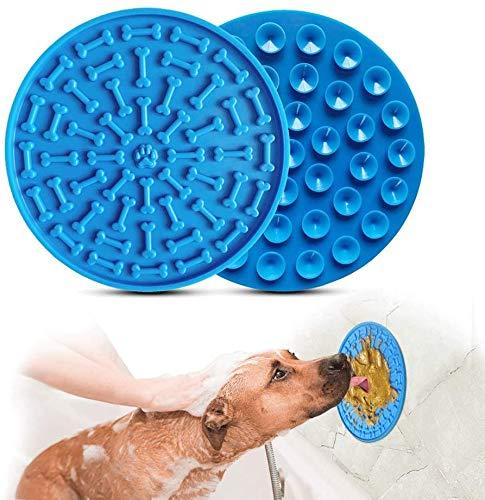 YOMI Lick Matte für Hunde, langsame Fütterung, mit super starkem Saugnapf, Ablenkung für Hunde, Katzenfutter, Haustierbaden und Fellpflege, Training