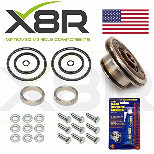 X8R DOUBLE TWIN DUAL VANOS SEALS UPGRADE REPAIR SET KIT COMPATIBLE WITH BMW 3 SERIES E46 1998-2005 6 CYLINDER M54 / M56 ENGINE MODELS PART # X8R41