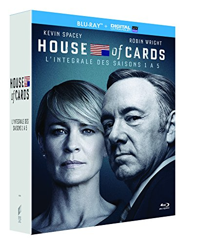 House of Cards-L'Intégrale Saisons 1 à 5 [Blu-Ray + Copie Digitale]
