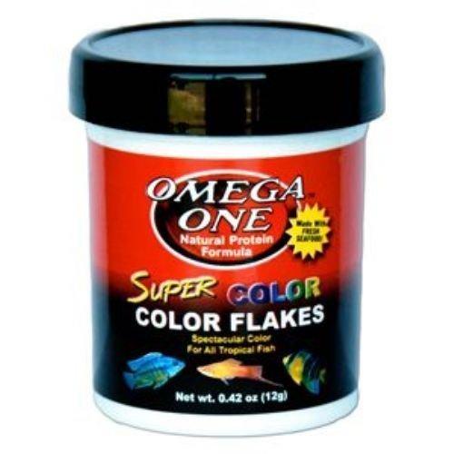 Omega One Super Color Flakes 5.3oz by Omega Sea, Ltd.