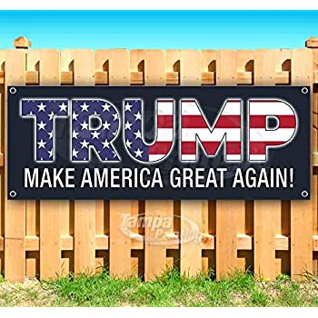 Many Sizes Available New Flag, Advertising Trump Country Nevada 2020 13 oz Heavy Duty Vinyl Banner Sign with Metal Grommets Store
