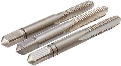 rosca m/étrica de nitruro HSS Besttse M3-M12 Juego de 7 brocas de rosca para taladro de rosca