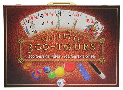 FERRIOT CRIC - 3100 - Mallette 300 Tours Magie et Cartes - - Marron