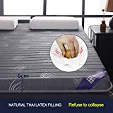 EOVL Memory Foam Tatami Mattress Topper,pillowtop Latex High Elasticity Breathable,Foldable Japanese Futon Sleeping