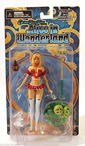 CS Moore Studios Grimm Fairy Tales: Alice Liddle Red Dress Convention Exclusive Action Figure