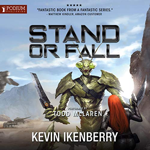 Stand or Fall audiobook cover art
