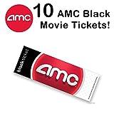 10 AMC Theatre Black Movie Tickets (Save $15+)