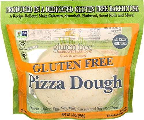 Wholly Wholesome, Dough Pizza Gluten Free, 14 Ounce