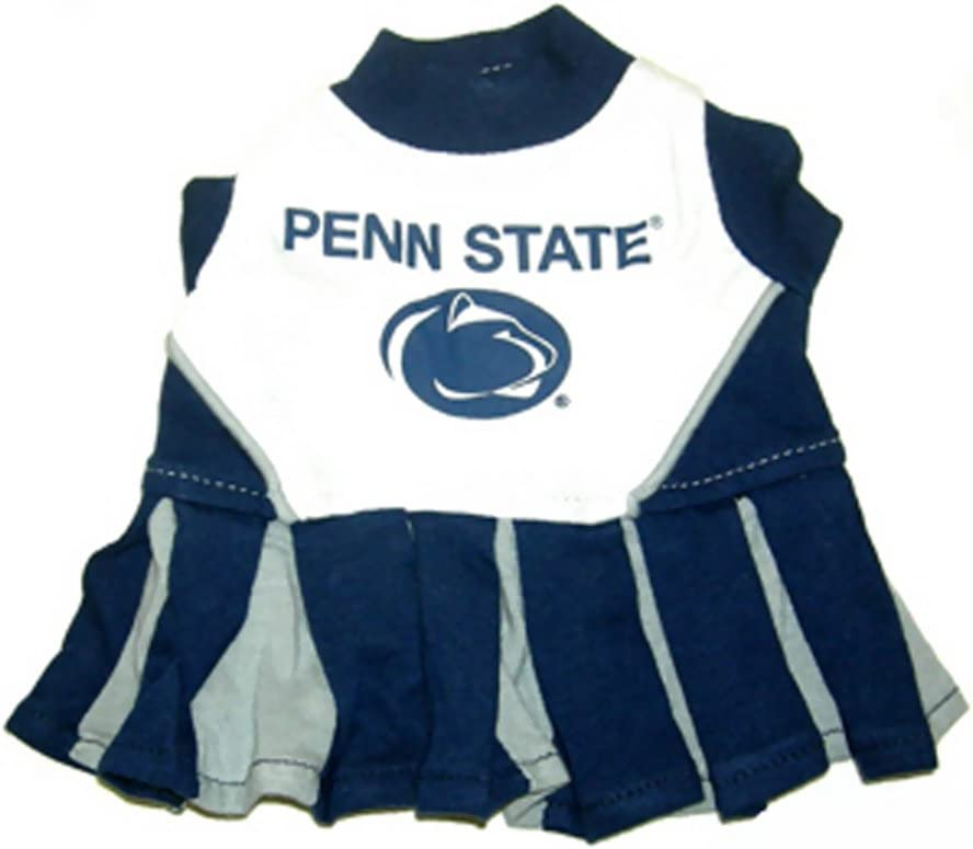 Ncaa Penn State University Cheerleader Dog Outfit X Small Pet Dresses Pet Supplies