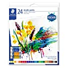 STAEDTLER Acrylic Paint, 24 Colours