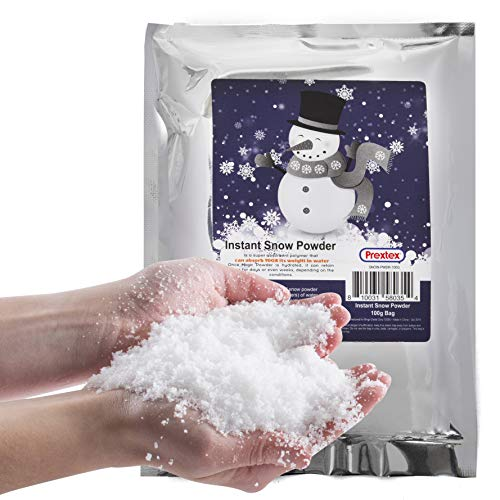 Instant Snow Powder - Makes 2 Gallons of Artificial...