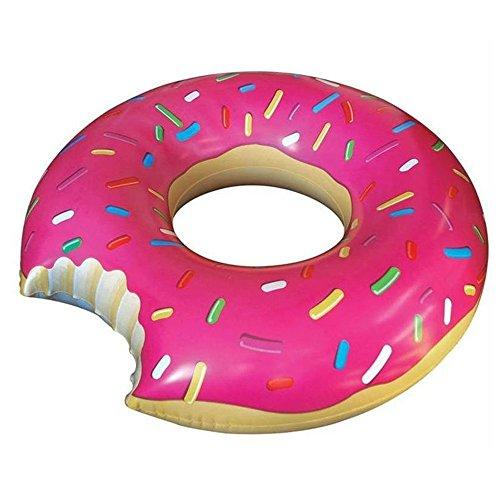 MENGCORE - Gigantesco flotador en forma de rosquilla para piscina, juguetes flotadores para piscinas, para adultos, flotador de anillo en forma de rosquilla, juguete acuático para el verano