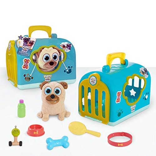 Puppy Dog Pals Groom and Go Pet Carrier, Rolly